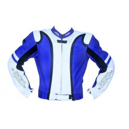 Chaqueta de cuero Redbat Reko BC-202 color azul