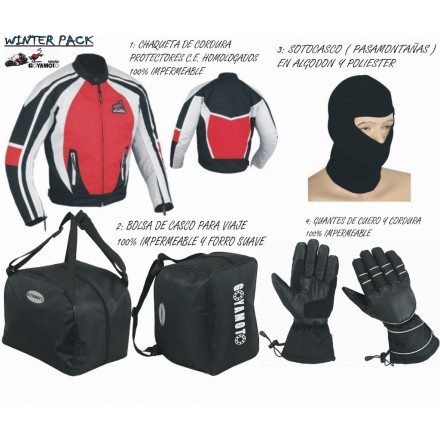 Pack 4*1 de invierno Goyamoto GM-1002