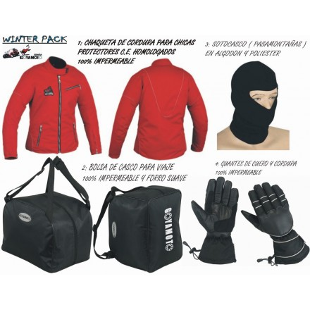 Pack 4*1 de invierno Goyamoto GM-1010