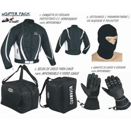 Pack 4*1 de invierno Goyamoto GM-1005