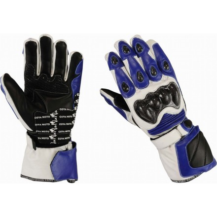 Guantes racing Goyamoto GM-231 color azul
