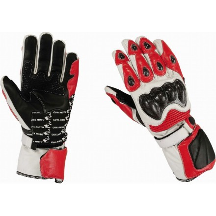 Guantes racing Goyamoto GM-231 color rojo