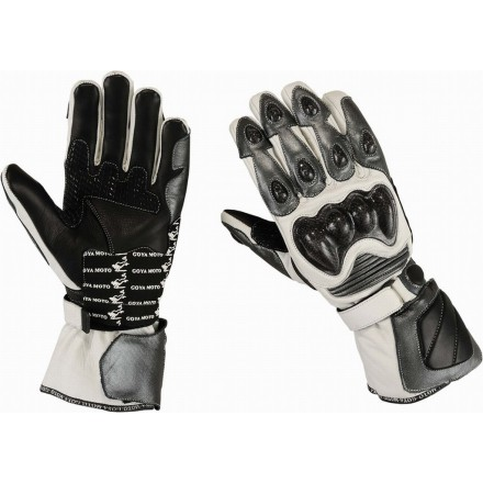 Guantes racing Goyamoto GM-231 color gris