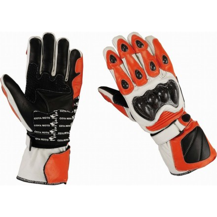 Guantes racing Goyamoto GM-231 color naranja