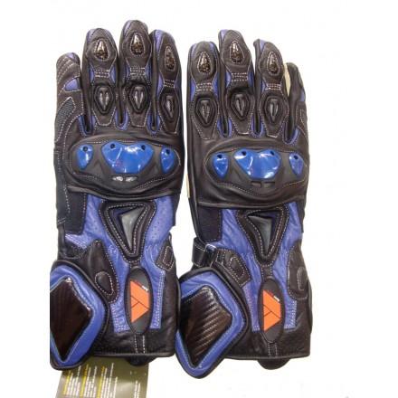 Guantes racing REKO color azul DB-325