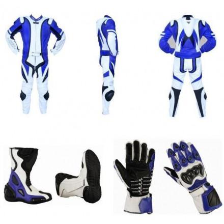 Pack moto 2 piezas Redbat Reko Azul DB-2020