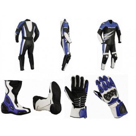 Pack moto racing Goyamoto Azul GM-683