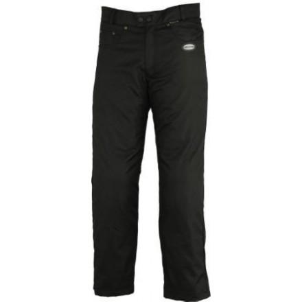 Pantalón de cordura tipo tejano Goyamoto GM-2651 color negro