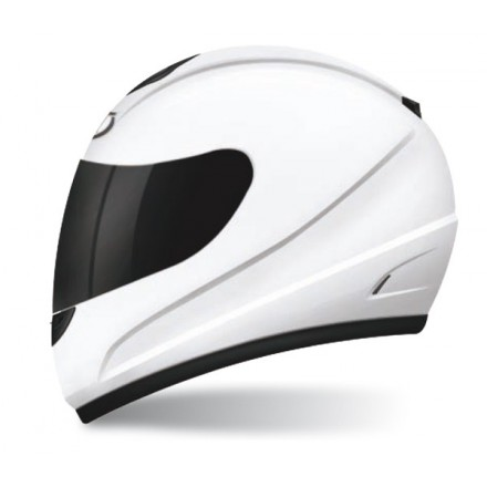 Casco integral MT Kids Thunder Solid White