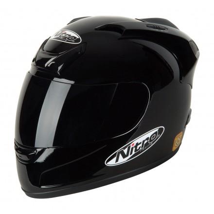 Casco integral Nitro N-250VX Negro brillo