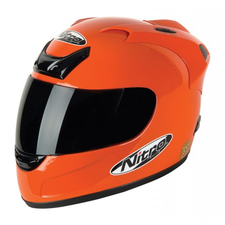 Casco integral Nitro N-250VX naranja