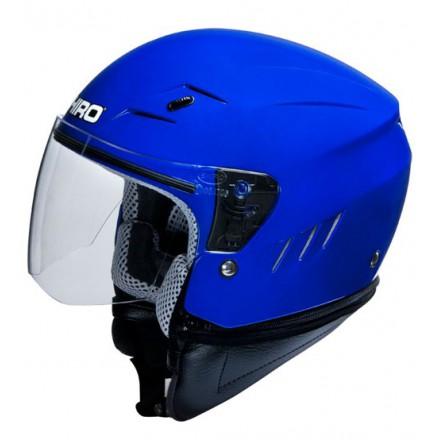 Casco Shiro SH-20 Monocolor azul