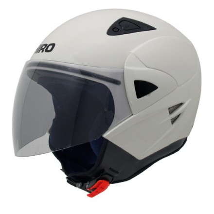 Casco jet SHIRO SH-60 Manhathan blanco