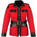 Abrigo de invierno para mujer Goyamoto GM-2424 color rojo