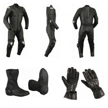 Pack moto racing Goyamoto Negro GM-681