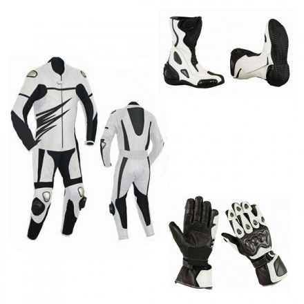 Pack moto racing Goyamoto Blanco GM-680