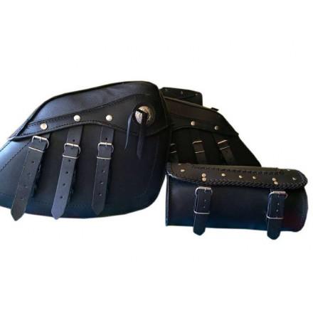 Pack alforjas 15 litros + portaherramientas 4 litros Redbat