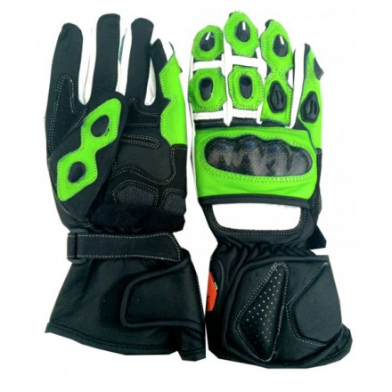 Guantes racing REKO color verde DB-325