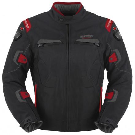 Chaqueta cordura ONBOARD Combat color negro-rojo