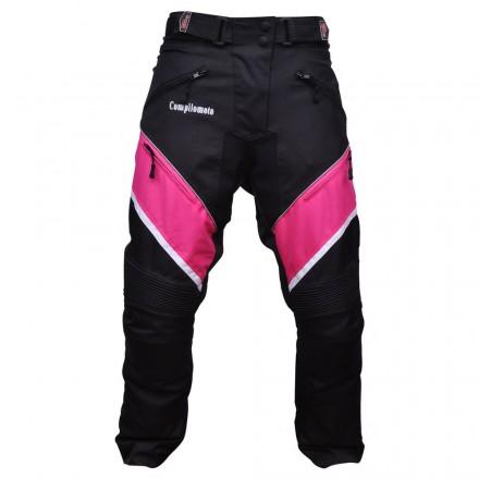 Pantalón de cordura mujer Compilo CM-1049 negro-fucsia