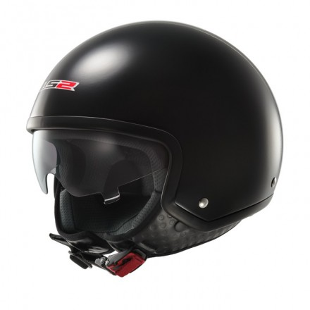Casco jet LS2 OF561.10 WAVE Black