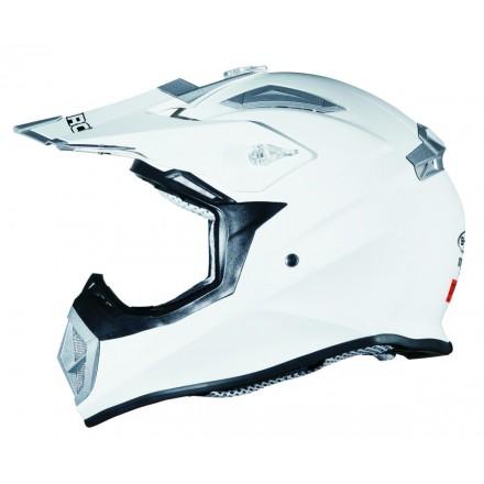 Casco Shiro cross MX-912 blanco
