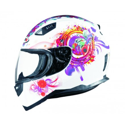 Casco integral Shiro SH-881 Princess Blanco