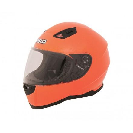 Casco integral Shiro SH-881 Monocolor flúor naranja