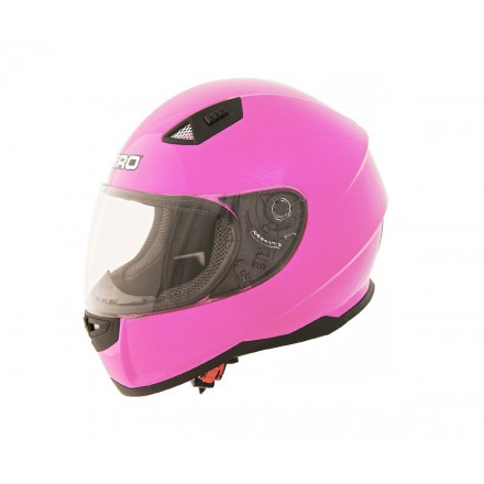 Casco integral Shiro SH-881 Monocolor flúor rosa