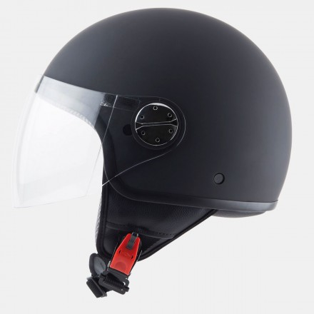Casco jet MT Zyclo Solid Matt Black