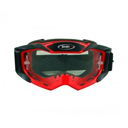 Gafas Off Road Shiro Goggle MX-902 color rojo
