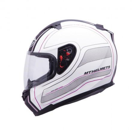 Casco integral MT Blade SV Raceline Matt Black-Pink