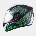 Casco integral MT Blade SV Alpha Gloss Black/Fluor Green/White