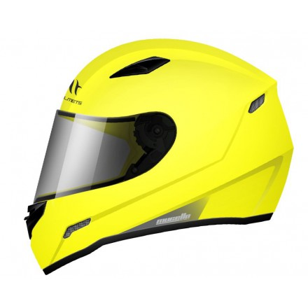 Casco integral MT Mugello Solid Gloss Fluor Yellow