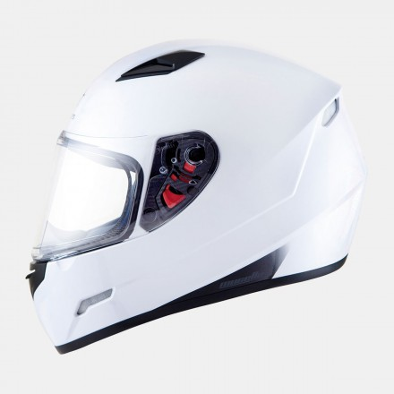 Casco integral MT Mugello Solid Gloss White
