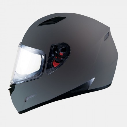 Casco integral MT Mugello Solid Matt Titanium