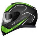 Casco integral MT Thunder 3 SV Trace Matt Black-Fluor Green