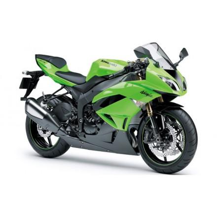 Pelacrash Kawasaki Ninja ZX6 R 09