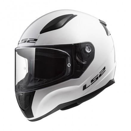 Casco integral LS2 FF353.10 Rapid Solid White
