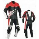 Mono de moto 1 pieza Goyamoto GM-185 triple titanio rojo