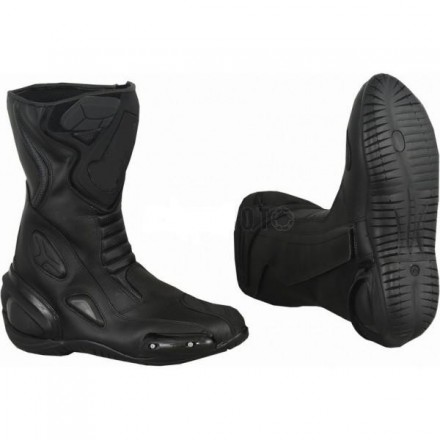 Bota Piel racing GOYAMOTO GM-365 color negro