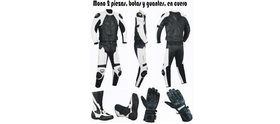 Packs 2 piezas mono+botas+guantes