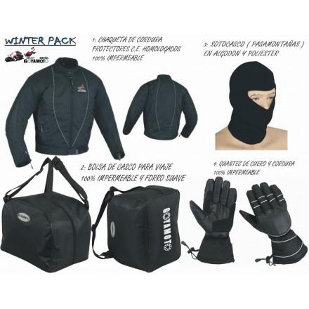 Pack 4*1 de invierno Goyamoto GM-1004