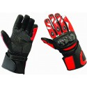 Guantes racing Goyamoto GM-233 color rojo