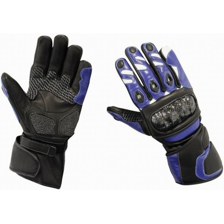 Guantes racing Goyamoto GM-233 color azul