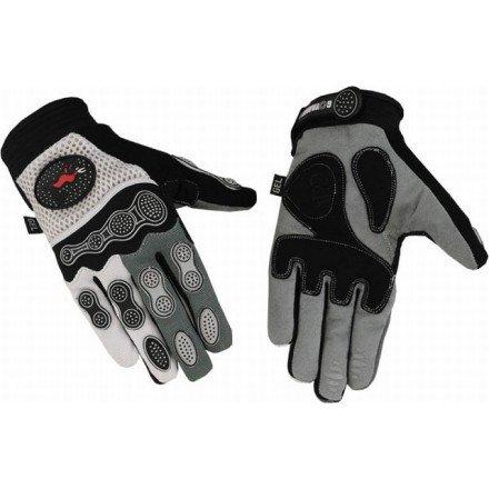 Guantes cortos de motocross Goyamoto GM-241 color negro
