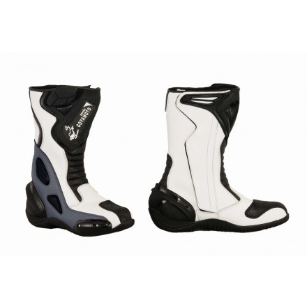Bota Piel racing GOYAMOTO GM-365 color gris