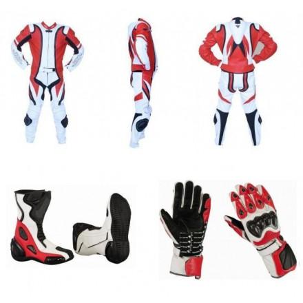 Pack moto 2 piezas Redbat Reko Rojo DB-2020