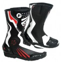 Botas racing MC-704 color rojo