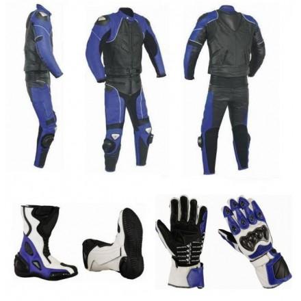Pack moto 2 piezas Goyamoto Azul GM-653